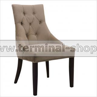 Кресло Версаль-17 (Тон 5, Furor Brown Grey, Золото)