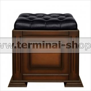 Банкетка-сундук на портале EL4108 (Итальянский орех, Чёрный)