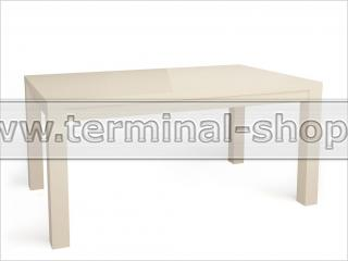 Стол обеденный Оптима-1 (Глянец бежевый)
