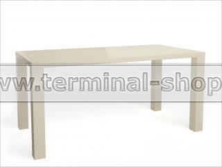 Стол обеденный Солярис-2 (Глянец бежевый)
