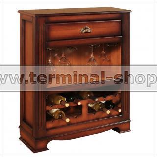 Шкаф винный EL5219 (Итальянский орех)