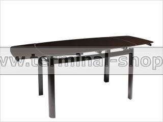 Стол обеденный B179-71 (Чёрный, Стекло чёрное)