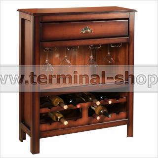 Шкаф винный EL5019 (Итальянский орех)