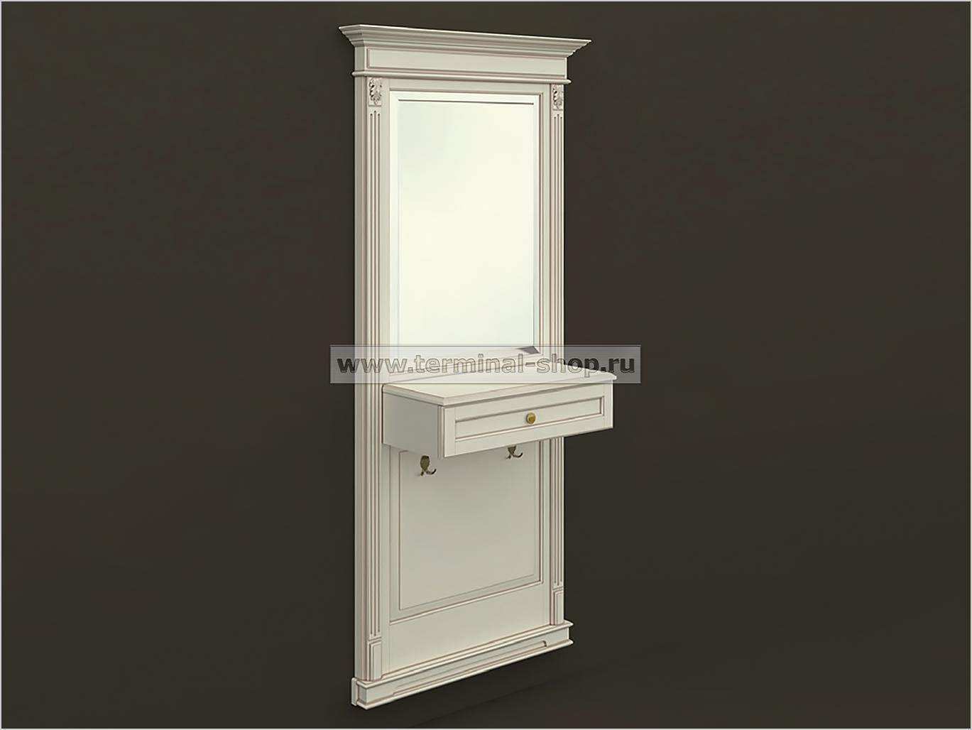 Панель-зеркало с консолью ПЗК-6/1005