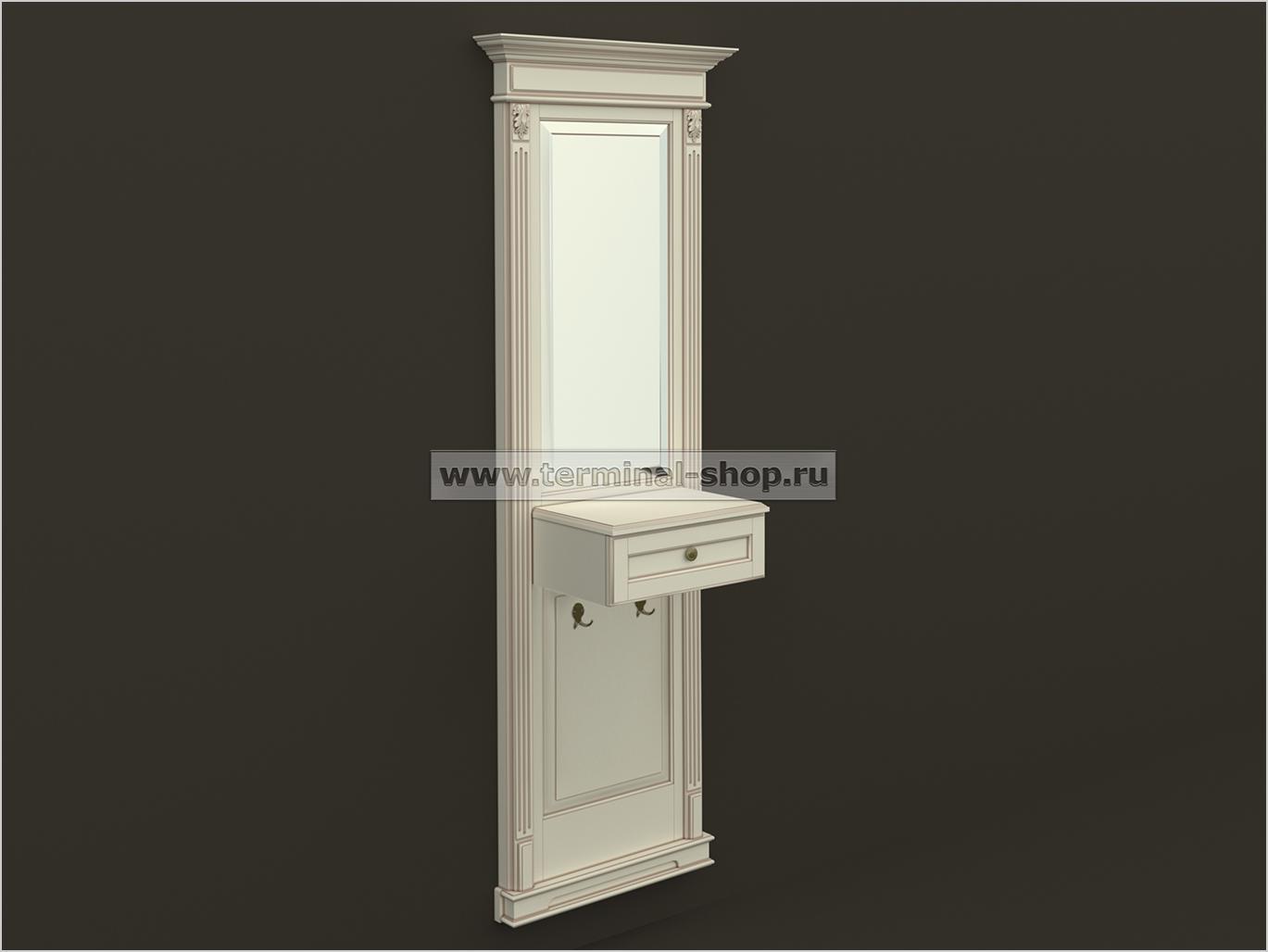 Панель-зеркало с консолью ПЗК-6/775