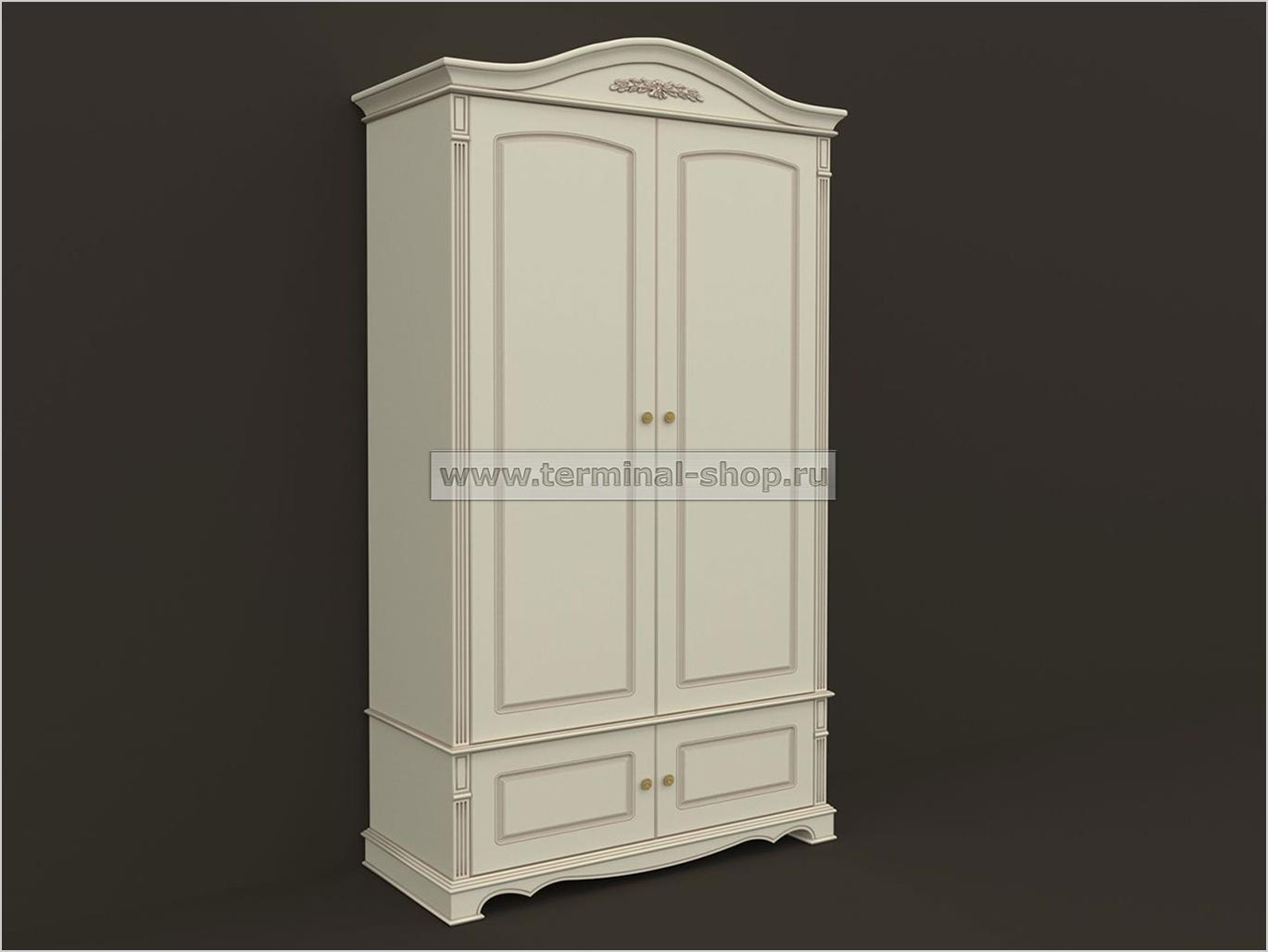 Шкаф двухдверный ES101-2D
