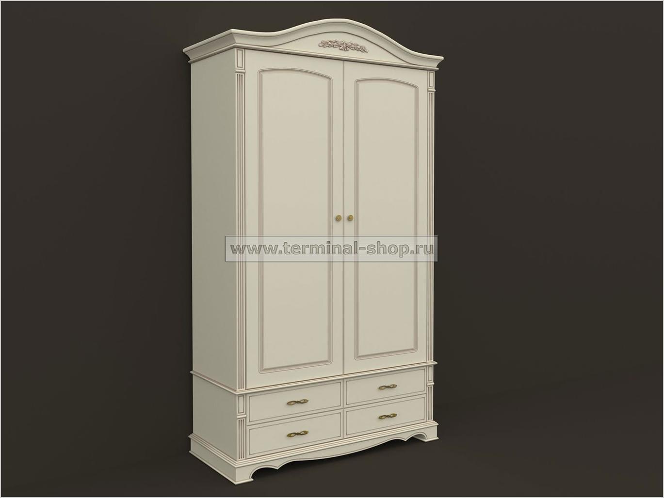 Шкаф двухдверный ES102-2D