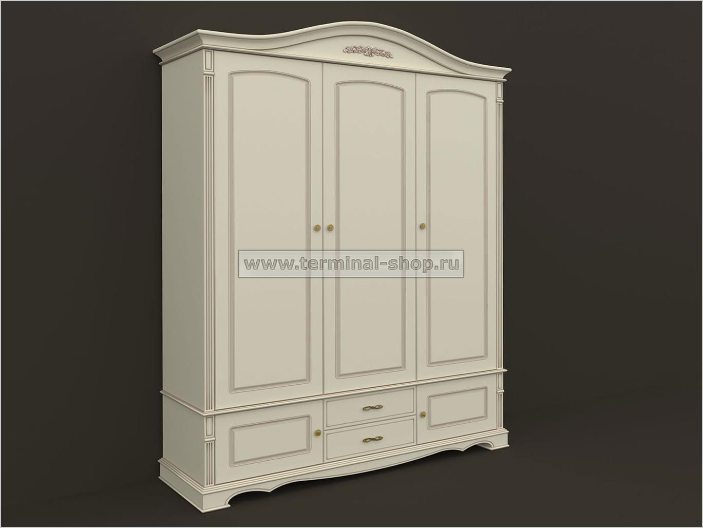 Шкаф трёхдверный ES103-3D