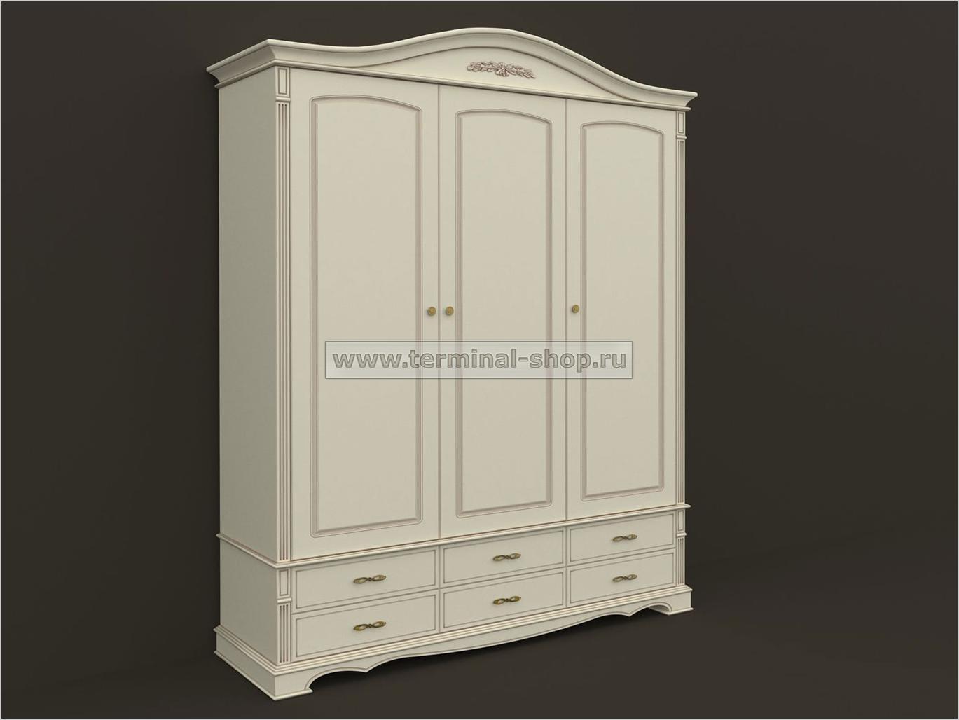 Шкаф трёхдверный ES104-3D