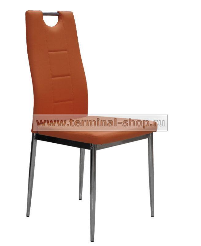 Стул DC600 (Хром, Оранжевый 639)