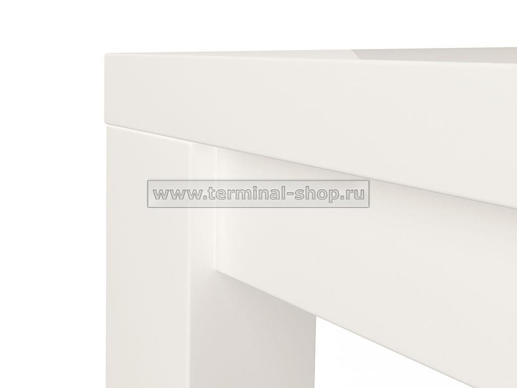 Стол обеденный Оптима-1 (Глянец белый)