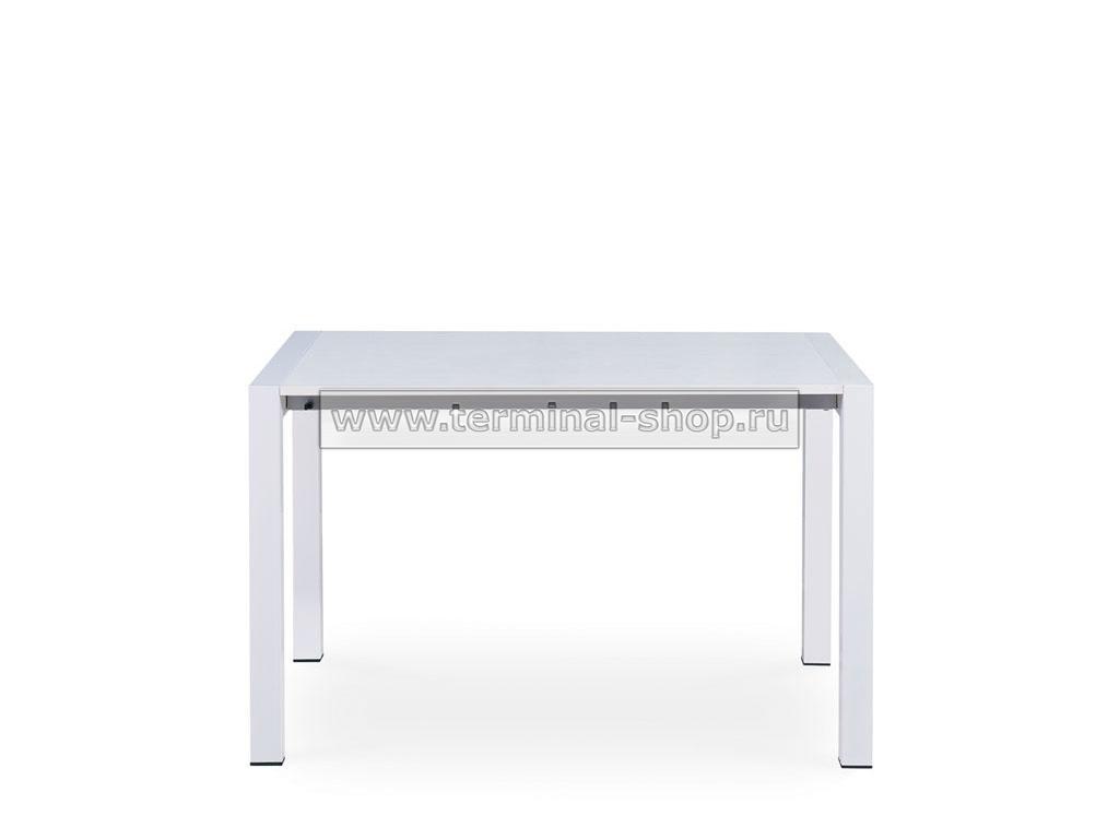 Стол обеденный B2256-2 (Белый с текстурой ME005-1)