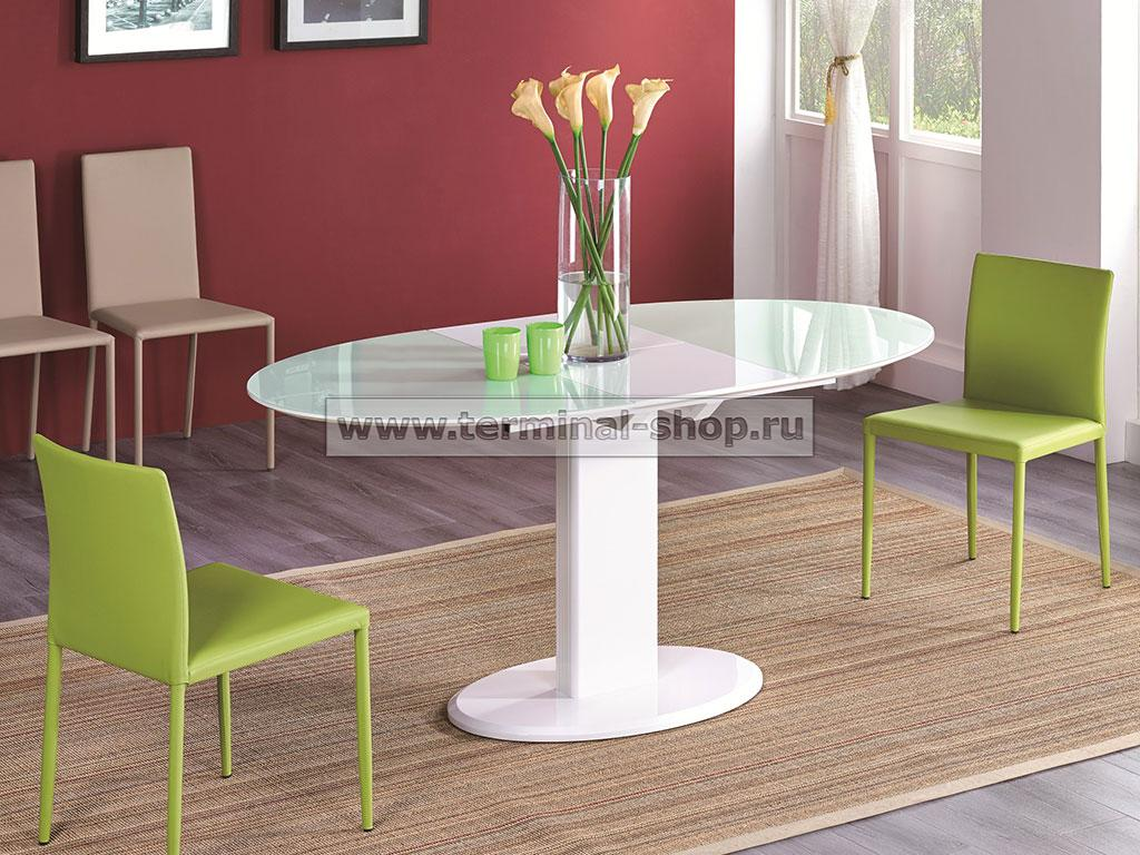 Стол обеденный B2396 (Белый)