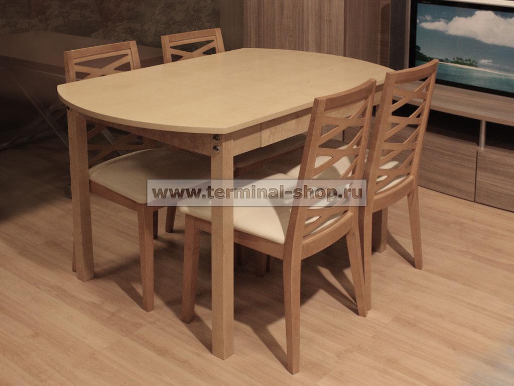 Стол обеденный BT3046 (Бук)