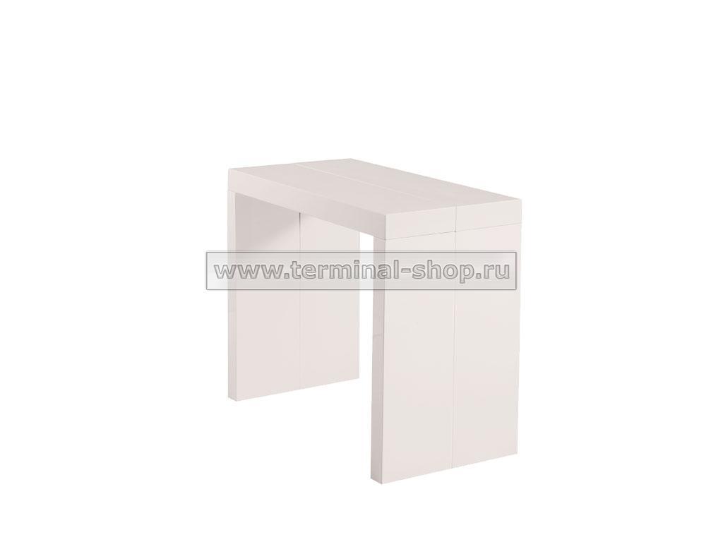 Стол-консоль N110 (Глянец бежевый)