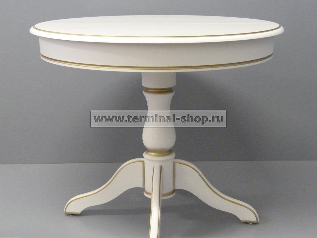 Стол обеденный Аркос-10 (Декор 13)