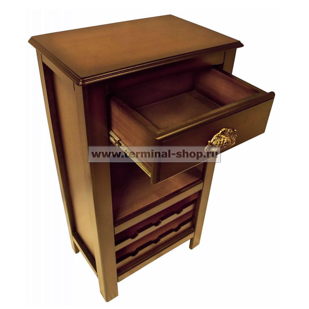 Шкаф винный EL5016 (Итальянский орех)