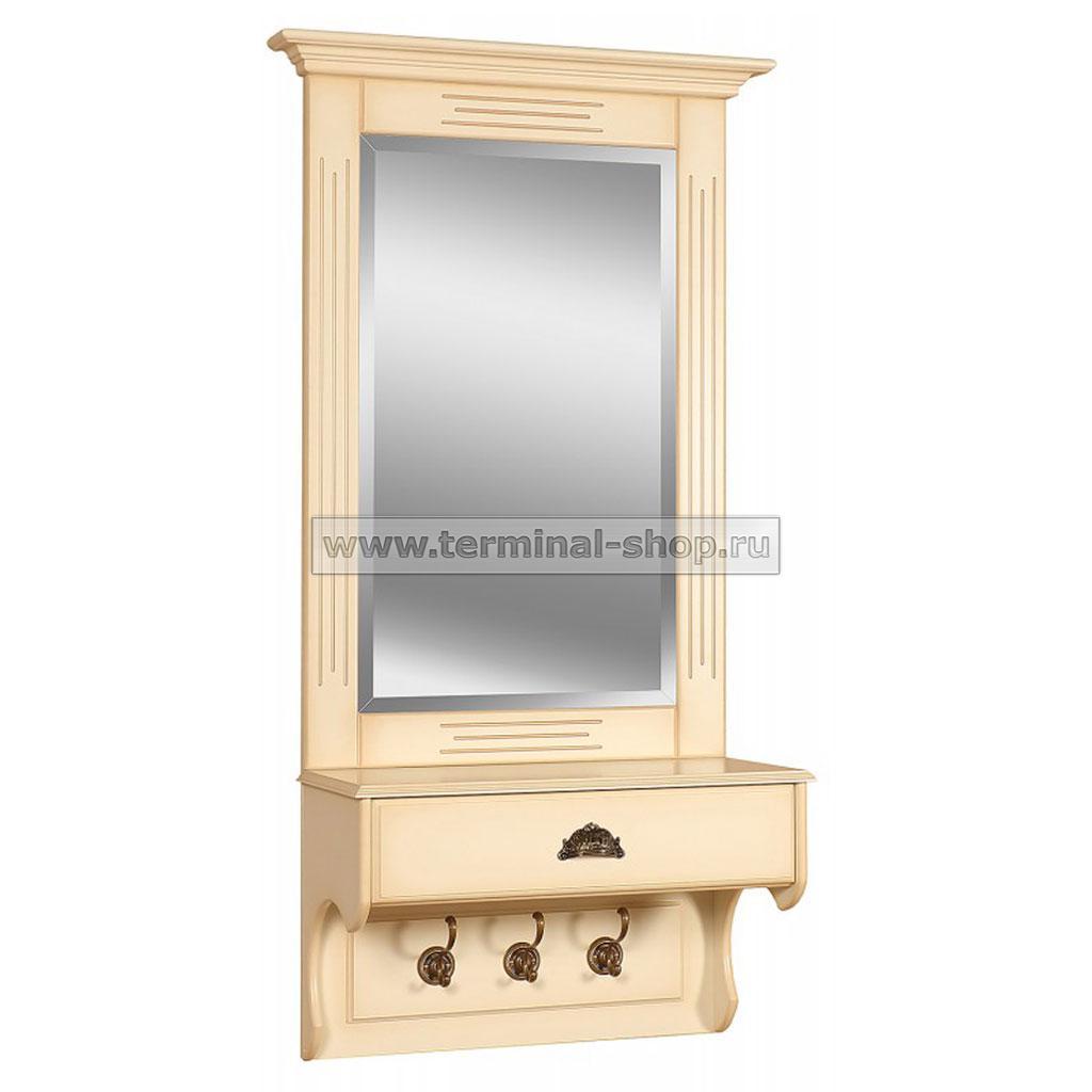 Зеркало с ящиком EL5024 (Слоновая кость)